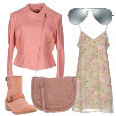 Outfit Rosa rock