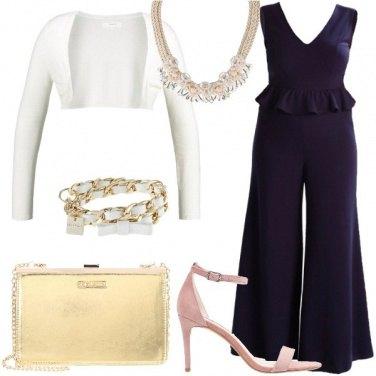 Outfit Cerimonia in tuta