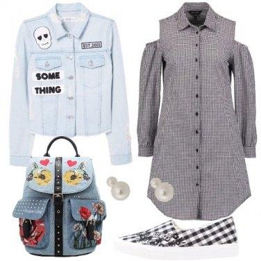Outfit Una ragazza alla moda