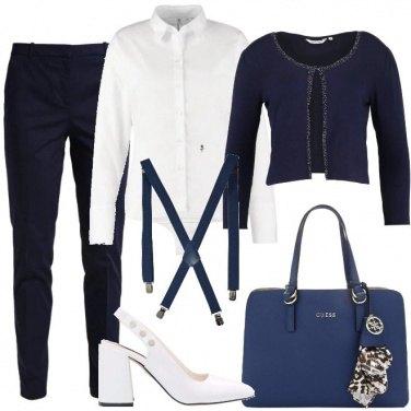Outfit Il blu non sbaglia mai