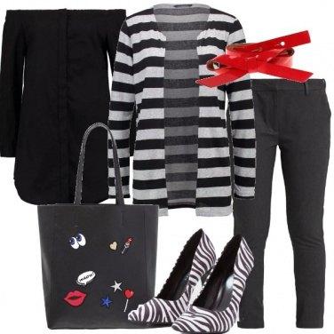 Outfit Piccoli dettagli colorati
