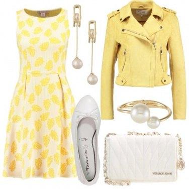 Outfit Giallo Bon Ton