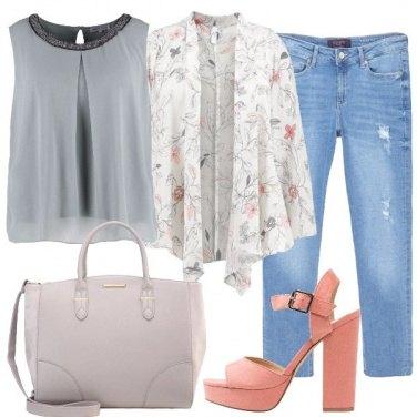 Outfit Fiori di aprile