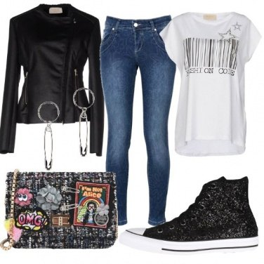 Outfit Primavera rock
