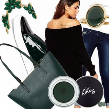Outfit We love verde bosco!