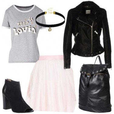 Outfit Rock in tulle