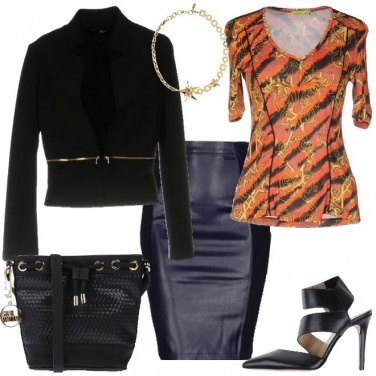 Outfit Pelle nera