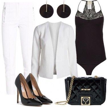 Outfit Vernice nera
