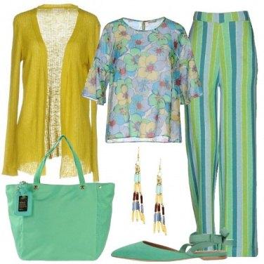 Outfit Un colorato pomeriggio tra amiche