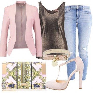 Outfit Il jeans veste la sera