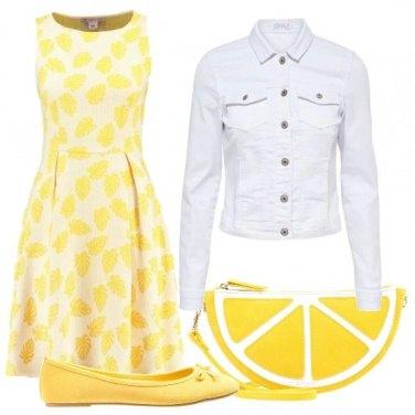 Outfit Uno spicchio di limone