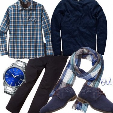 Outfit Blu!
