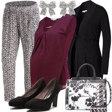 Outfit Fiocchi e pancione