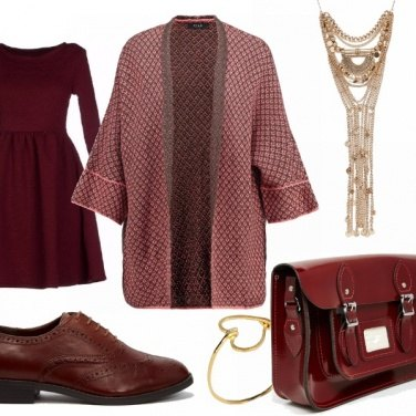 Outfit British casual-chic