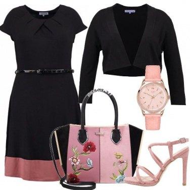Outfit Il sandalo rosa