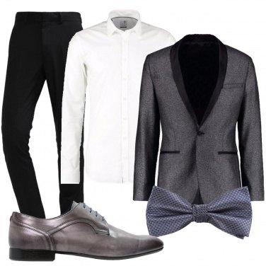 Outfit Con le stringhe blu