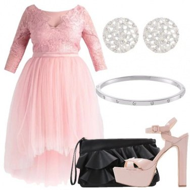 Outfit Favolosa rosa