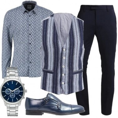 Outfit Fantasie mix e match uomo