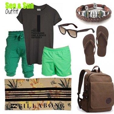 Outfit SEA & SUN