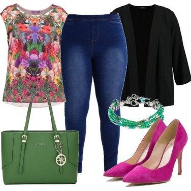 Outfit Colorata e trendy