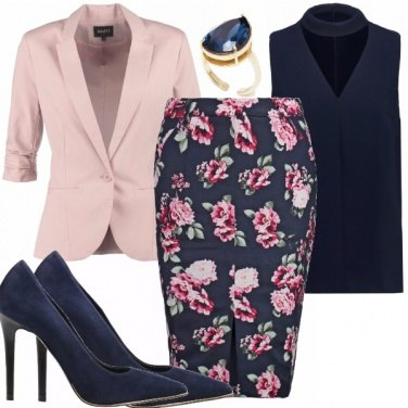 Outfit Pink and blue
