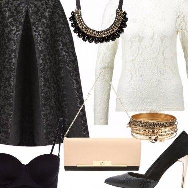 Outfit Pizzi e merletti.