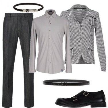 Outfit La giacca in maglia
