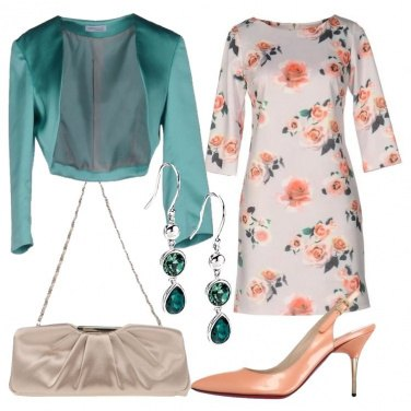 Outfit Romantiche rose