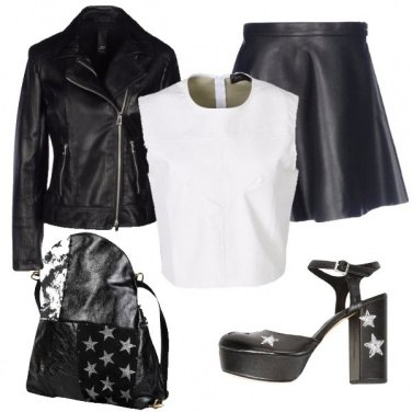 Outfit Stasera rock