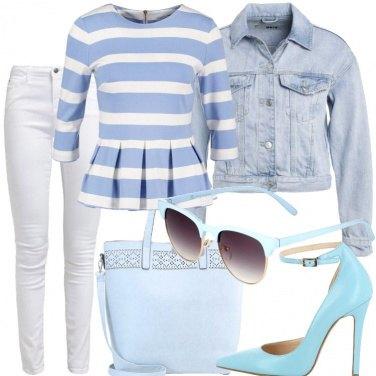 Outfit Soprattutto azzurro