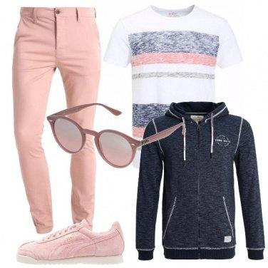 Outfit Abbinamenti di rosa