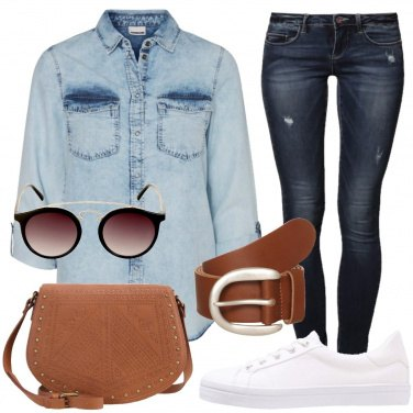 Outfit Primavera in jeans