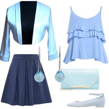 Outfit Celeste melodia