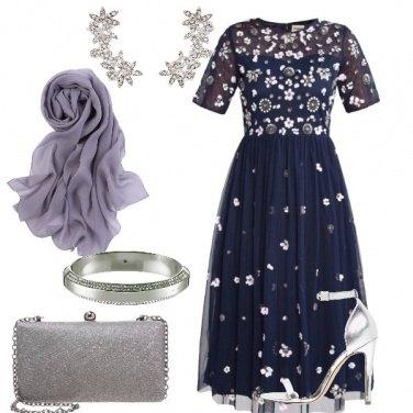 Outfit Il vestito blu