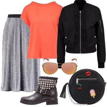 Outfit La borsa con le patches