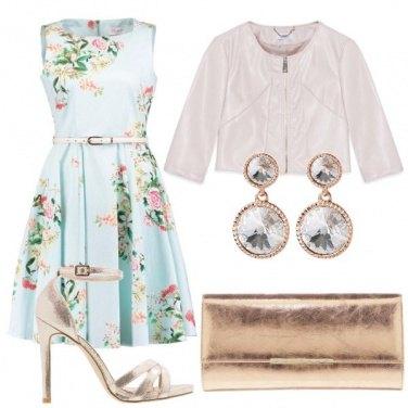 Outfit Cerimonie primaverili in pastello