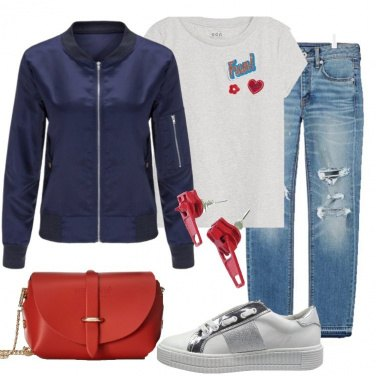 Outfit Versatile bomber