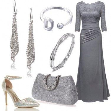 Outfit Una signora d\'argento