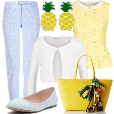 Outfit Bon ton con accessori divertenti