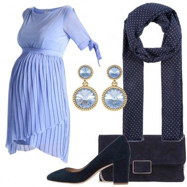 Outfit Cerimonia in plissè