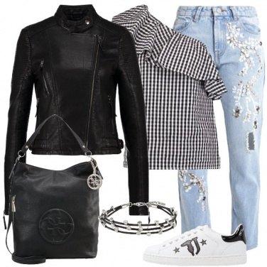 Outfit Scacchi di tendenza