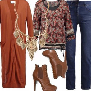 Outfit Le foglie d\'autunno.