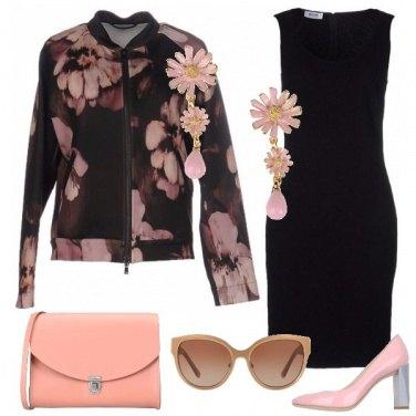 Outfit Fiori rosa fiori di pesco