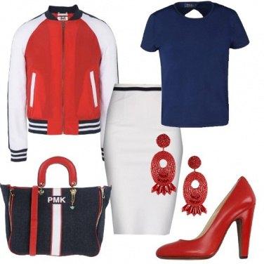 Outfit Bomber e tacchi