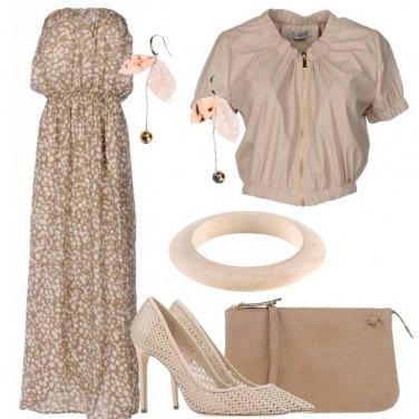 Outfit L\'abito in cotone e seta