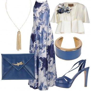 Outfit Eleganza blu