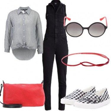 Outfit Piccoli quadratini
