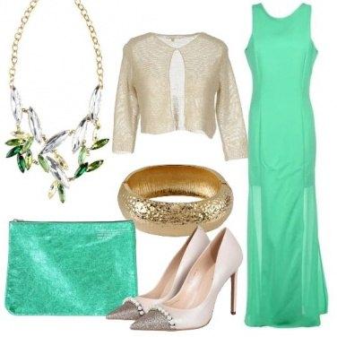 Outfit L\'eleganza del verde