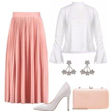 Outfit La gonna rosa