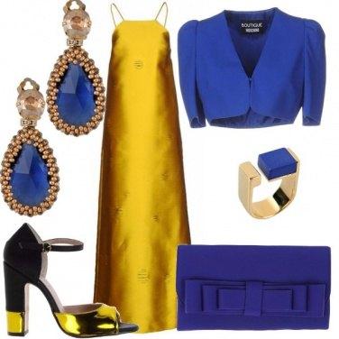 Outfit Giallo e blu mi piaci tu